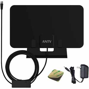 Today only: ANTV digital indoor 40-mile range TV antenna for $8