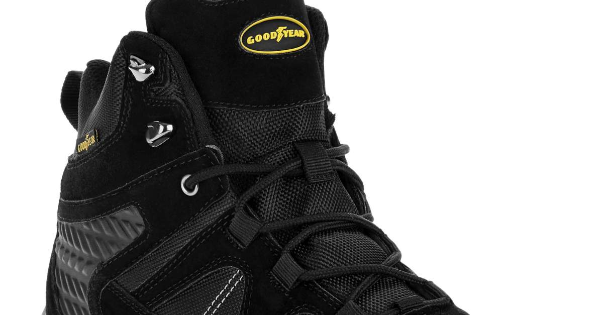 Goodyear men's Teton Outdoor hiker work boots for $27