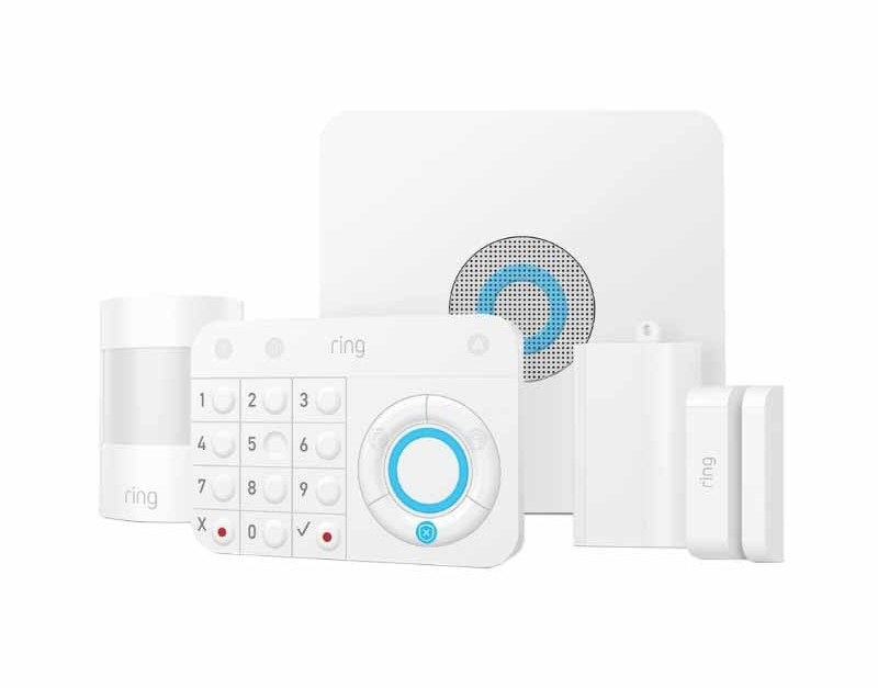 5-piece Ring Alarm security kit for $150 + Amazon Echo Dot, free shipping