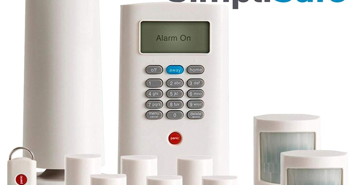 Today only: SimpliSafe 11-piece wireless home security system for $134