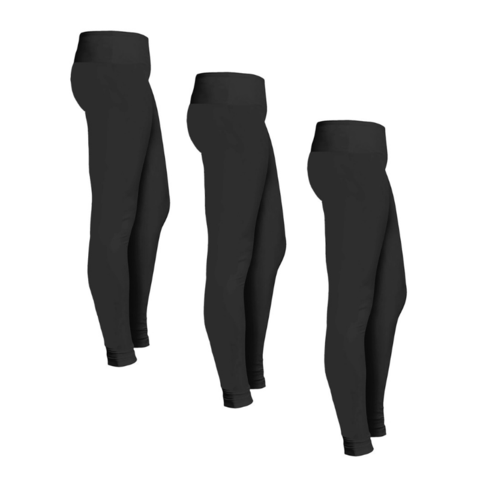 3-pack leggings for $18, free shipping