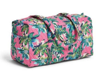 Vera Bradley factory style small duffel bag for $19, free shipping