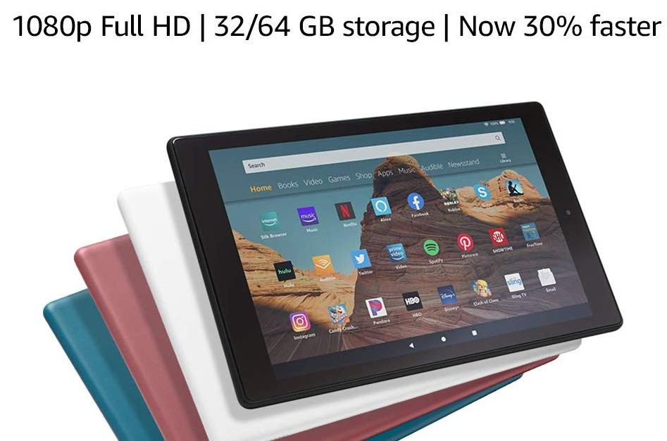 Amazon Fire HD 10 32GB tablet for $110
