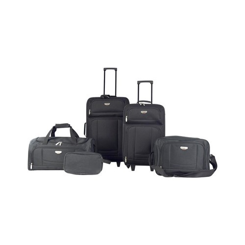 Travelers Club Tuscany 5-piece softside luggage set for $51, free shipping