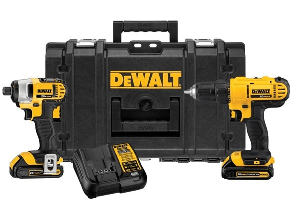 Today only: Dewalt ToughSystem 20V MAX 2-tool combo kit for $160