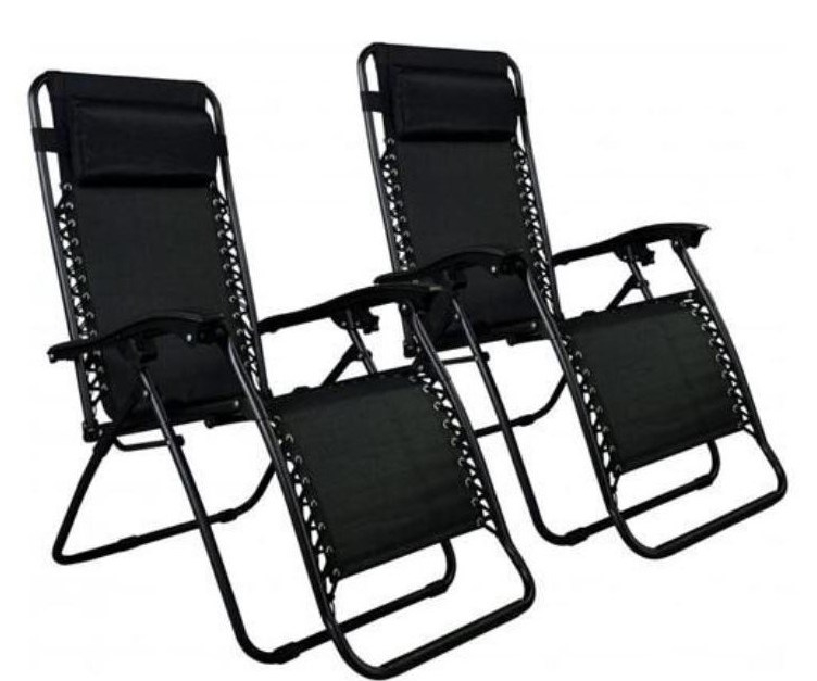 2 zero gravity recliner chairs for $48