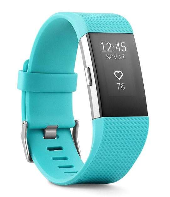 Fitbit Charge 2 heart rate + fitness wristband for $80