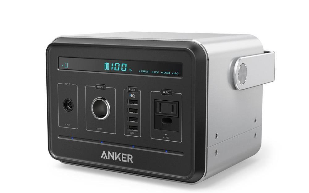Anker PowerHouse compact 400Wh/120,000mAh portable generator for $350, free shipping