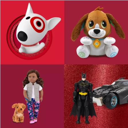 Save up to $25 on toys and games at Target!
