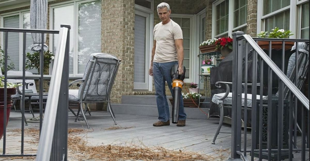 Worx turbine 450 electric leaf blower for $30, free shipping
