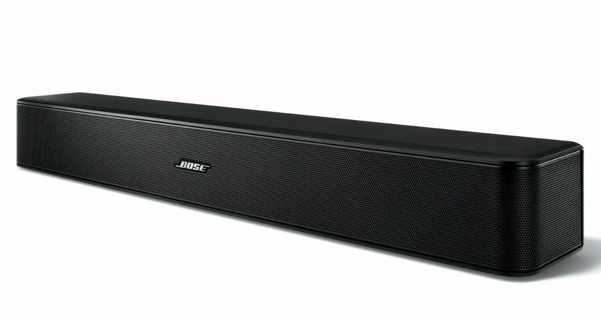 Bose Solo 5 TV factory-renewed Bluetooth soundbar for $99
