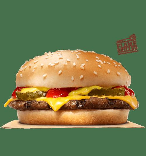 Get a cheeseburger for just 59 cents at Burger King!