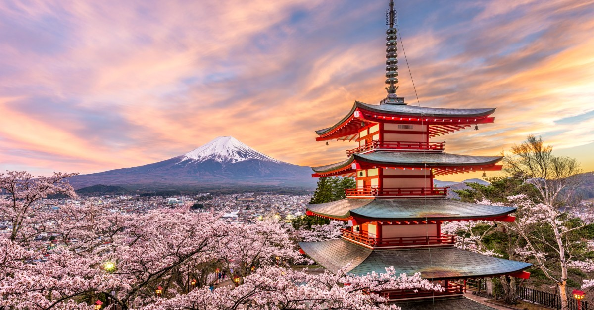 10-night Japan vacation with hotel, air & rail from $1,501
