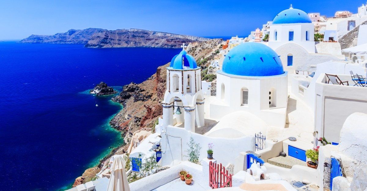 6-night Athens & Santorini vacation with flights from $838