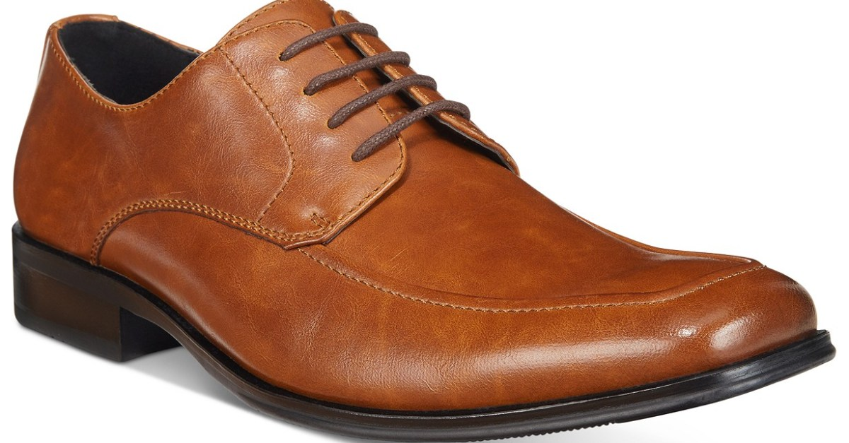 Men's Alfani shoes for $20 at Macy's