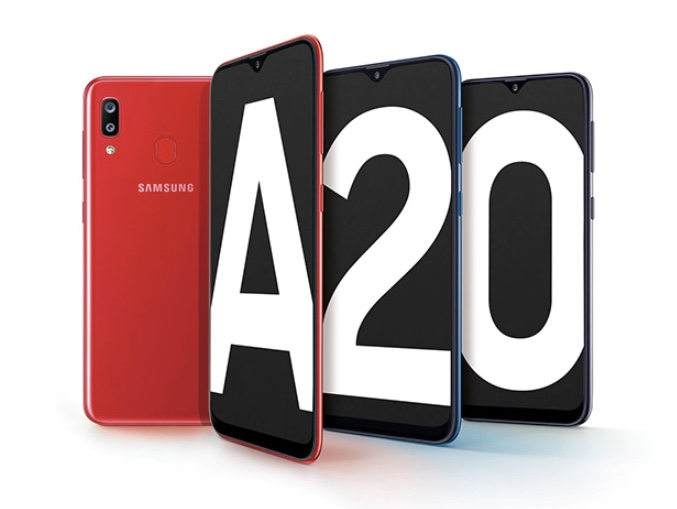 Samsung Galaxy A20 smartphone for $159