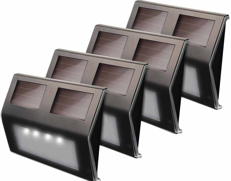 Today only: 4-pack solar-powered outdoor lights for $15 in-store
