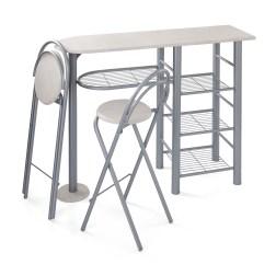 Superb 3 Piece Mainstays Brooklyn Counter Height Dining Set For 36 Spiritservingveterans Wood Chair Design Ideas Spiritservingveteransorg