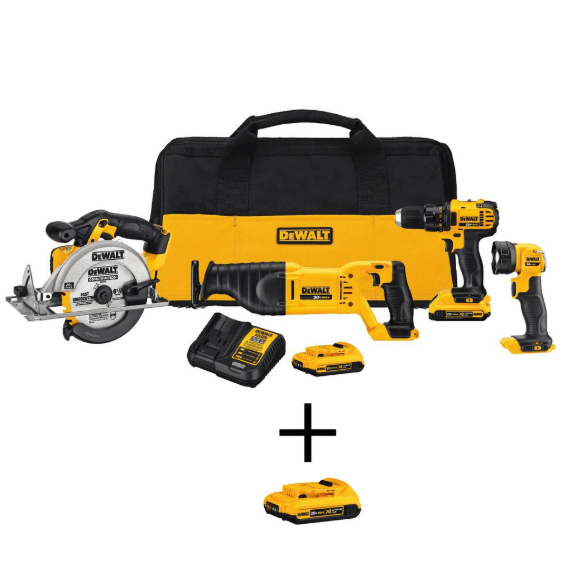 Today only: Save up to 52% on Dewalt tools and work boots