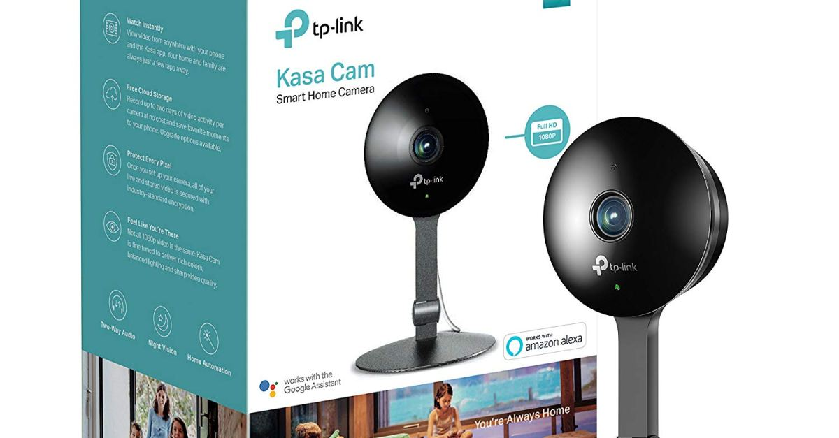 Price drop! TP-Link Kasa Cam smart home indoor Wi-Fi camera for $68