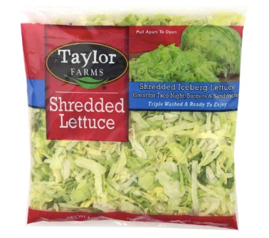 FREE 8oz. Taylor Farms shredded iceberg lettuce at Sprouts