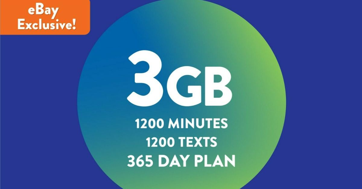 Tracfone 1-year prepaid smartphone plan for $45