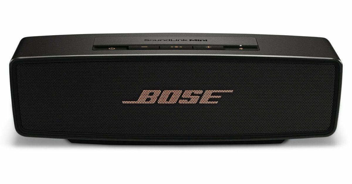 Bose SoundLink Mini II Bluetooth factory renewed speaker for $100