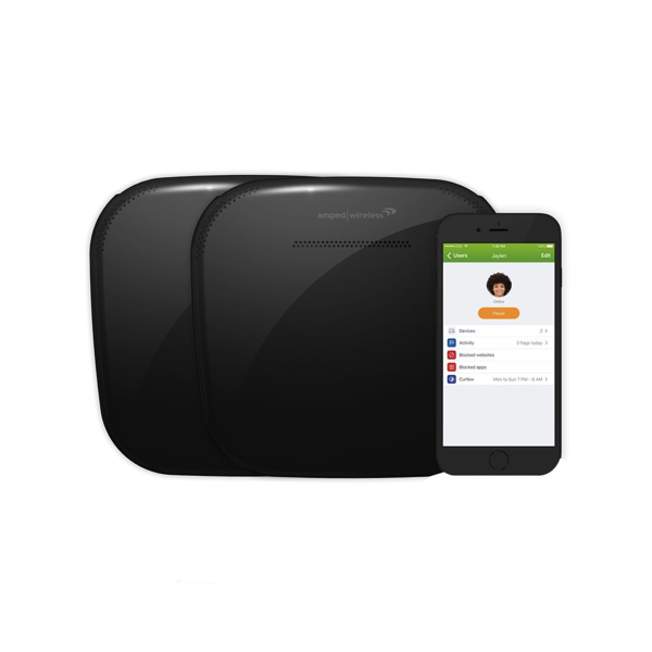 Amped Wireless Ally AC1200 dual-band smart mesh Wi-Fi system for $50