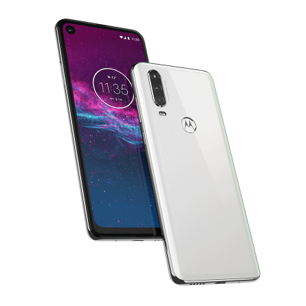 Pre-order the 128GB Motorola One Action unlocked smartphone for $350 and get the + 32GB Moto G6 FREE