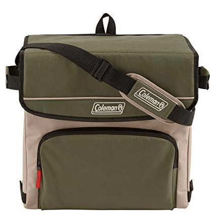 Coleman 54-can collapsible cooler for $15