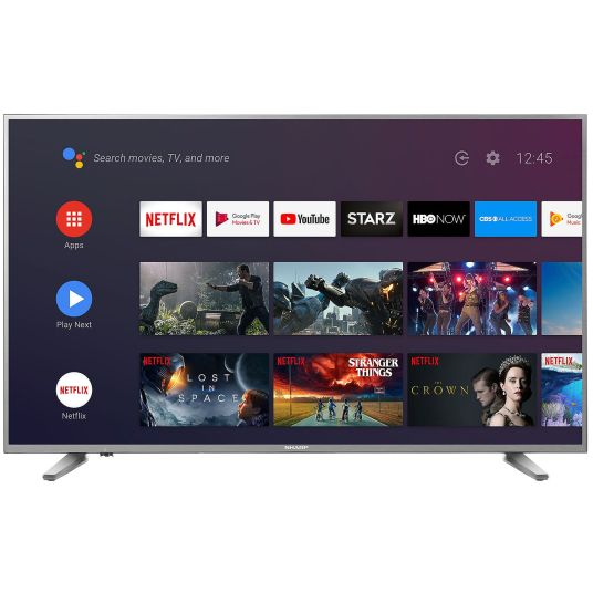Sharp 58″ Class 4K Ultra HD (2160p) HDR Android smart LED TV for $300