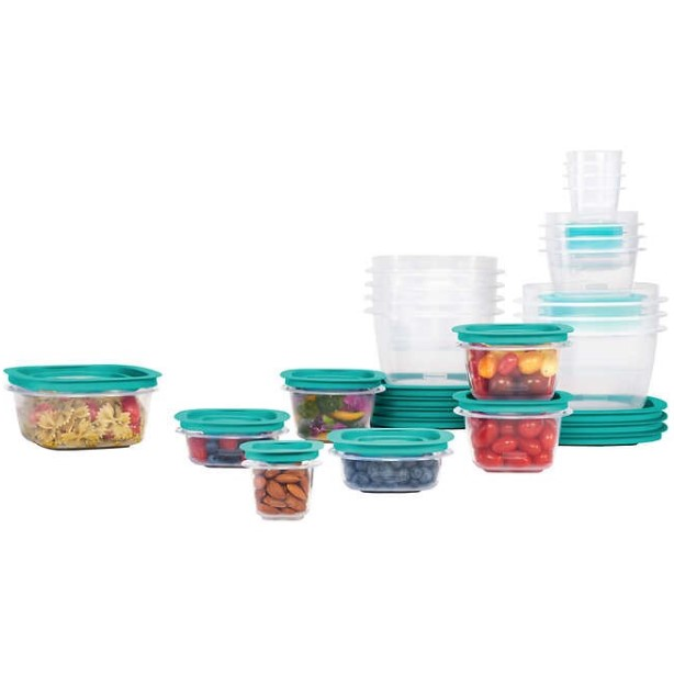 Rubbermaid 42-piece Press & Lock food storage set for $19