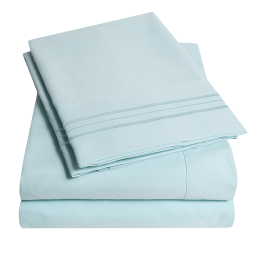 1800 thread count 4-piece deep pocket sheet sets from $12