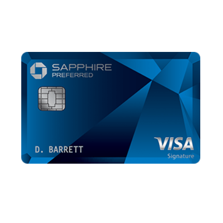 Get up to $750 in free travel with the Sapphire Preferred card