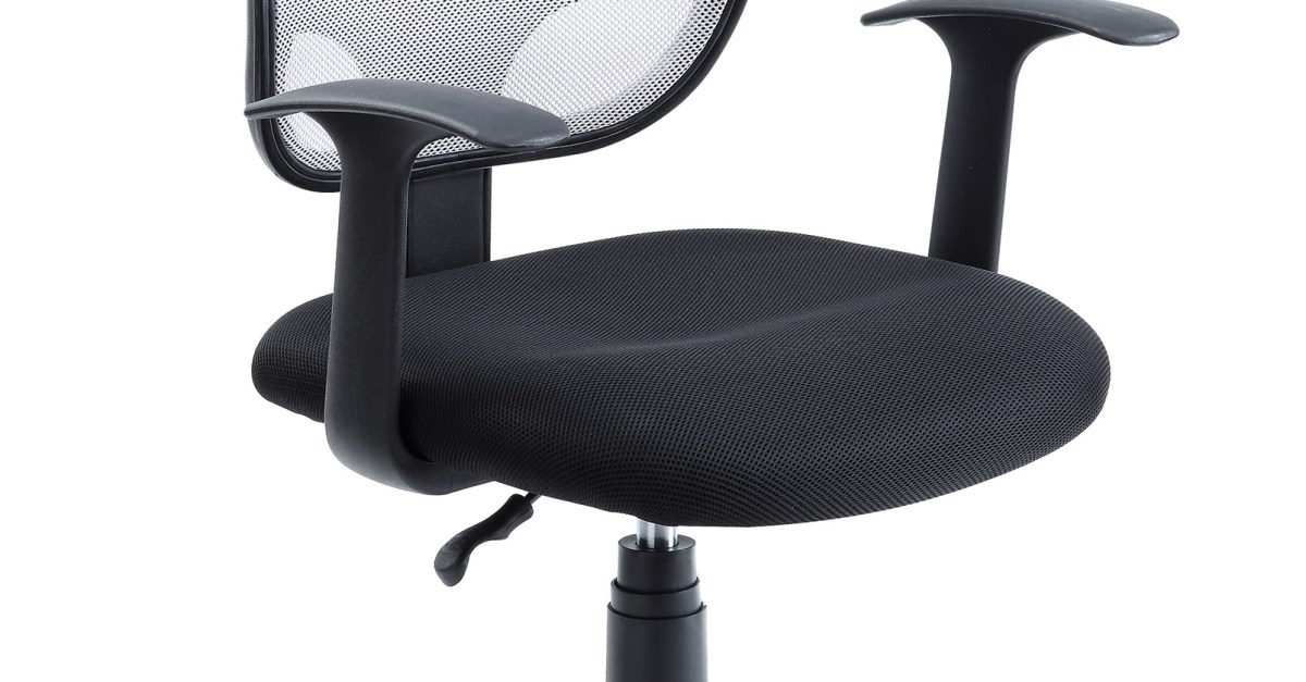 Mainstays mesh office chair with arms for $25