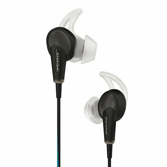 Bose QuietComfort 20 renewed noise-canceling in-ear headphones for $125, free shipping