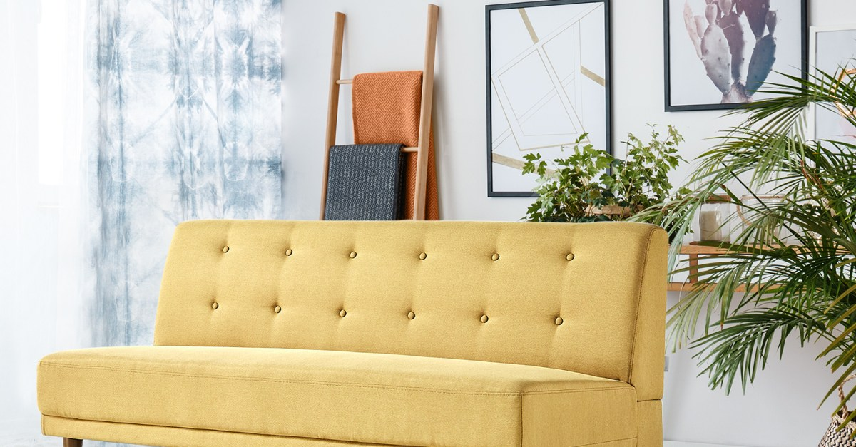 Zinus Lucy armless sofa for $175