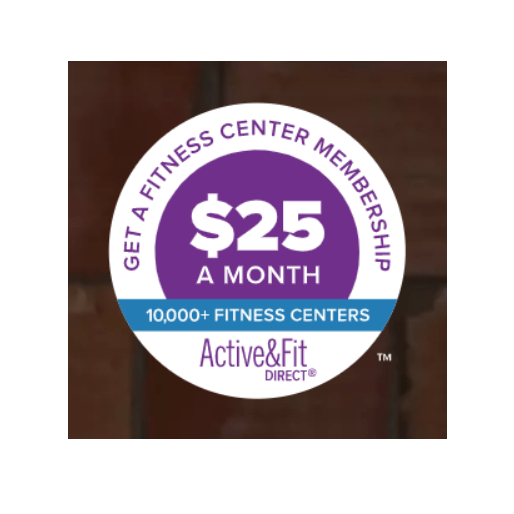Gym membership for $25 with select health insurance providers