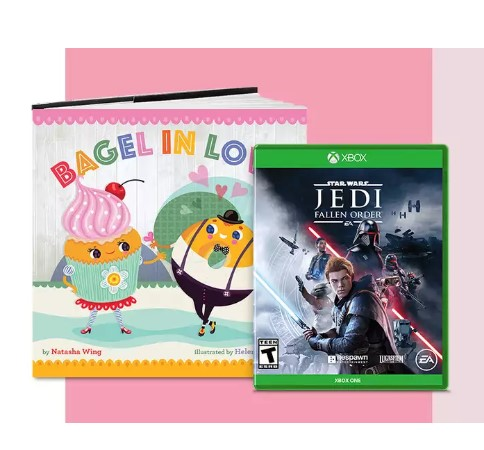 Buy 2 get 1 FREE video games, movies & books at Target
