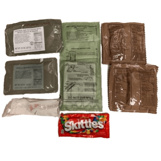 Today only: 12-pack MRE heater meals for $100