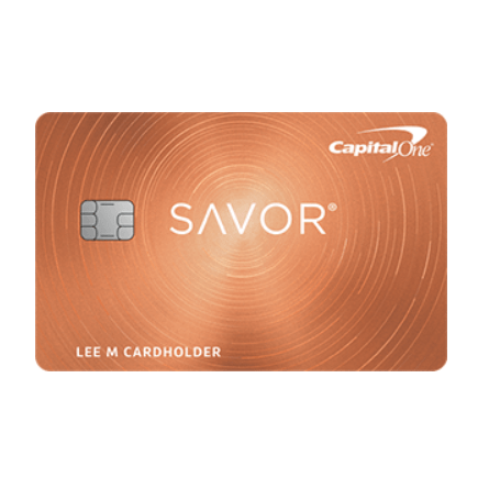 Get a $300 welcome bonus with the Capital One® Savor® Cash Rewards credit card