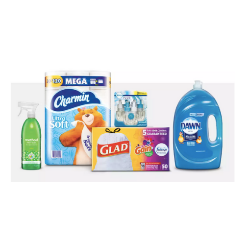 Get a $10 gift card with $35 household essentials purchase at Target