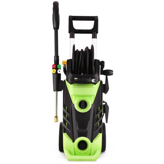 Max 3,000 PSI electric pressure washer with wheels for $140