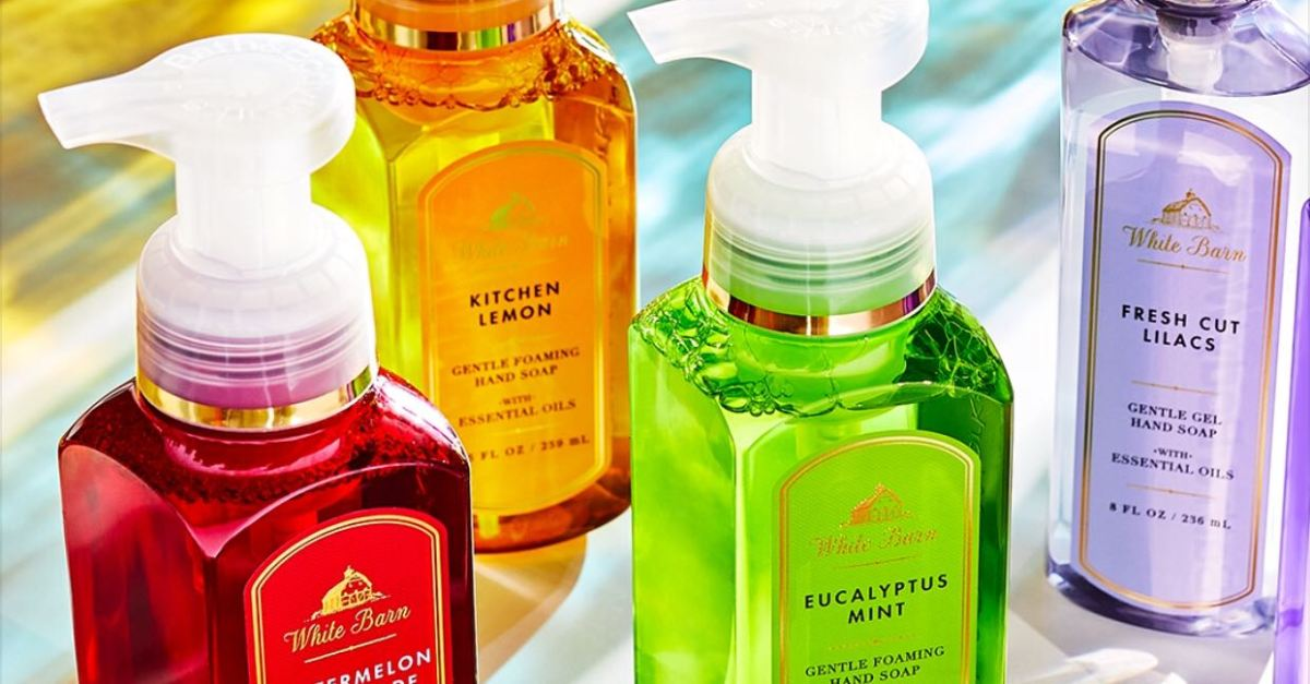 Bath & Body Works hand soaps from $4