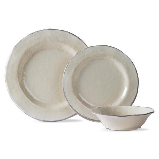Price drop! 12-piece Lanai Melamine dinnerware set from $12