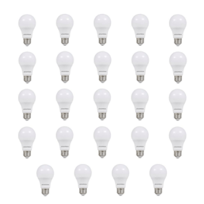 24-pack Sylvania 60W equivalent LED light bulbs under $24