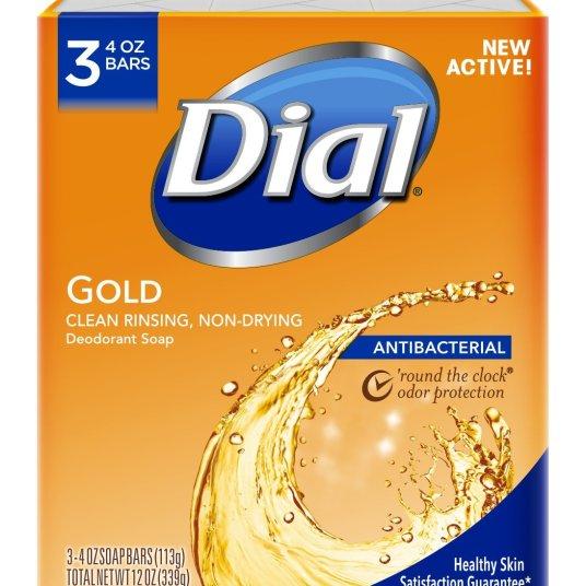 Prime members: 3-pack Dial antibacterial bar soap for $1.61