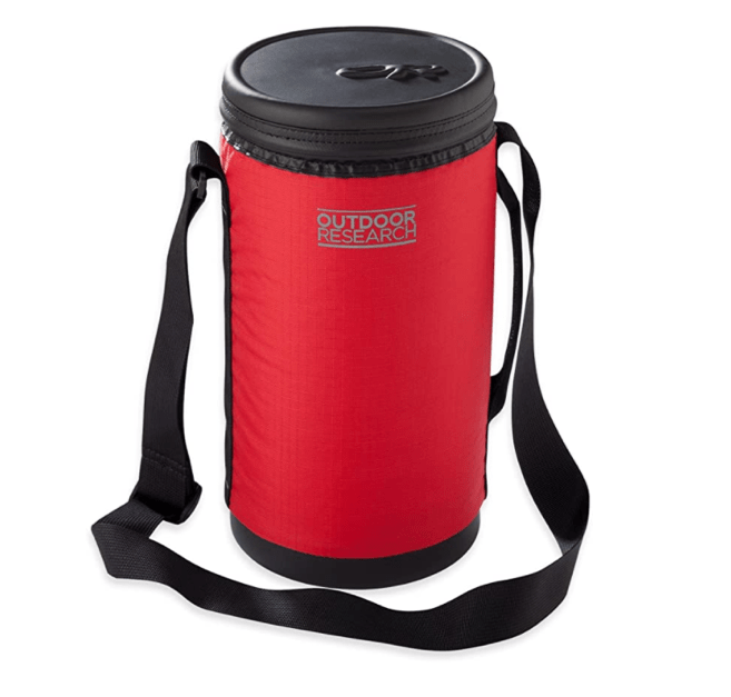 Outdoor Research half gallon parka growler water bottle for $12
