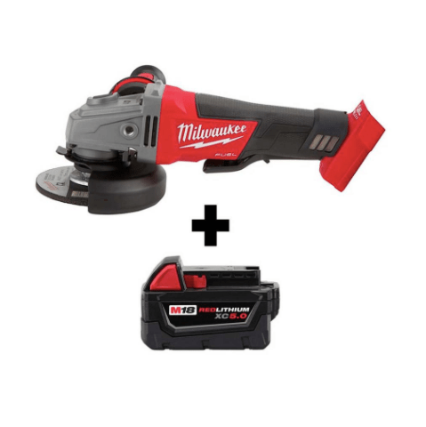 Get a FREE battery with Milwaukee M18 tool at The Home Depot