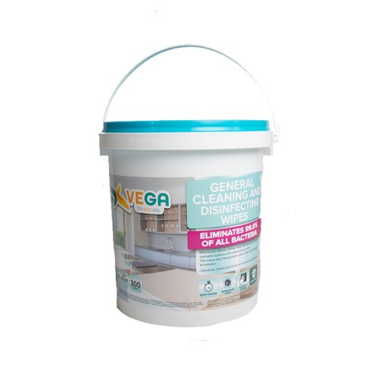 300-count Vega All-Purpose cleaning and disinfecting wipes for $30